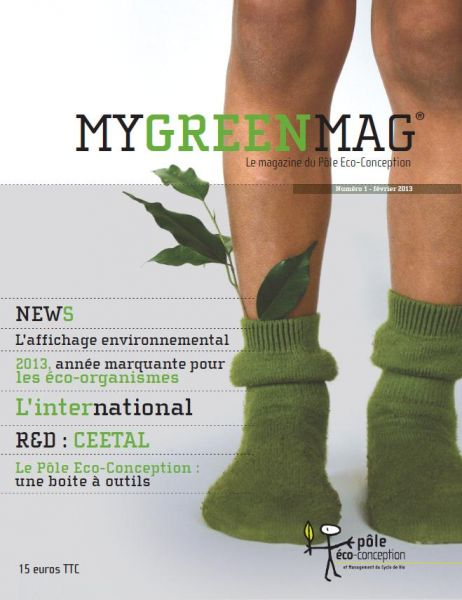 Premier Magazine Ecoconception international MyGreenMag
