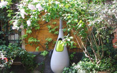 Mon coup de cœur pour ce récupérateur d'eau de pluie design