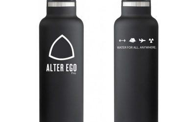 Alter Ego Frio, la nouvelle gourde purifiante et isotherme de Aquaovo