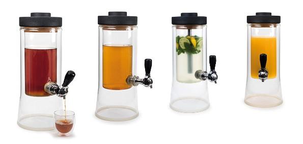 ISOTEA, nouvelle fontaine à thé design et isotherme