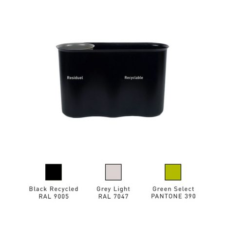 Corbeille design de bureau par Selectibox, produit 100% français