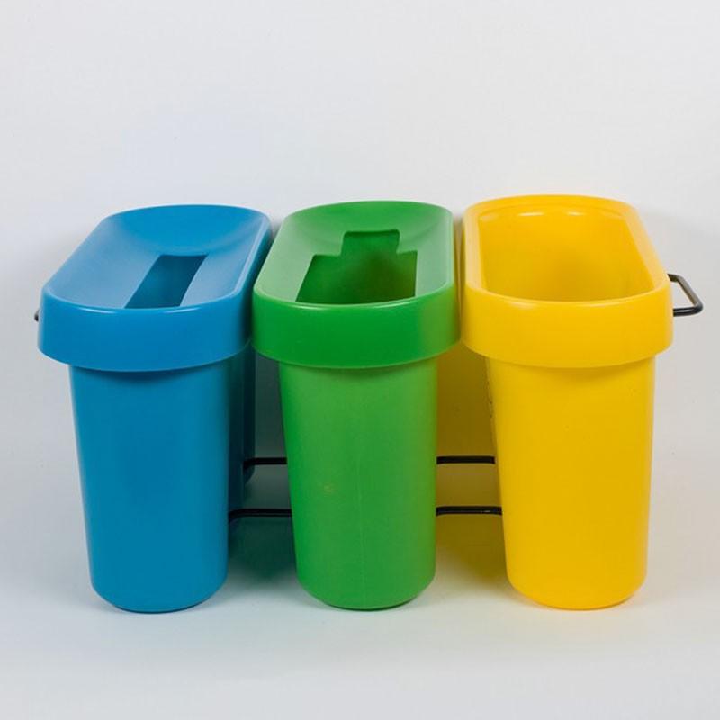 Collecte des déchets au bureau grâce à Selectibox