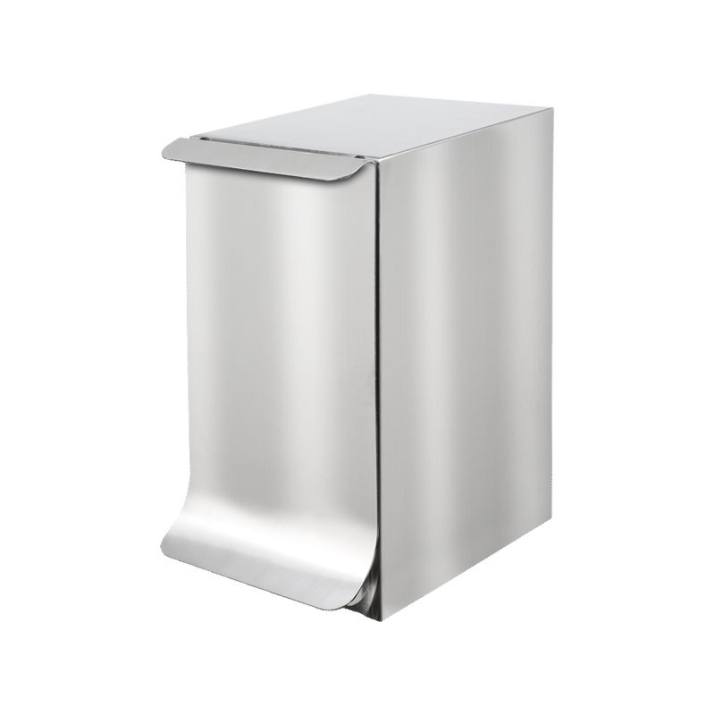 Qube design bathroom trash can