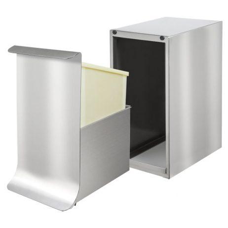 Poubelle de sanitaire Qube, sans mécanisme