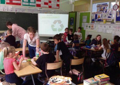 Comment instaurer le tri sélectif des déchets dans une salle de classe?