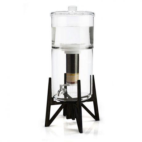 carafe filtrante en verre Tower de Aquaovo