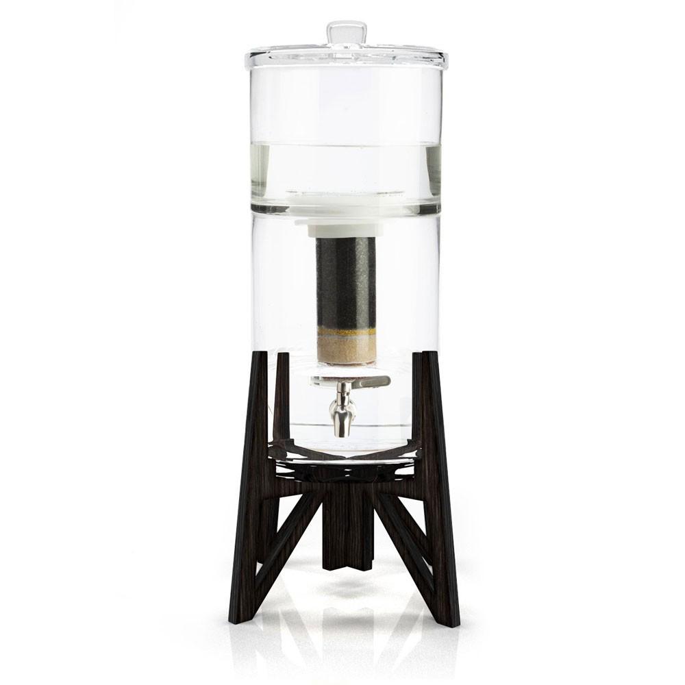 the tower carafe filtrante en verre de aquaovo my eco. Black Bedroom Furniture Sets. Home Design Ideas
