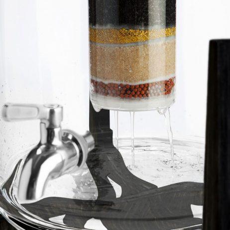 Purificateur d'eau en verre de Aquaovo