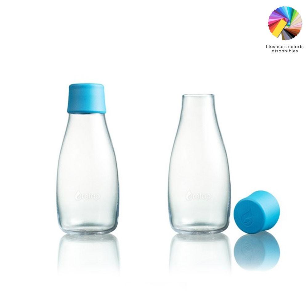 Retap 30 bouteille en verre de 30 cl my eco design - Bouteille d eau en verre ikea ...