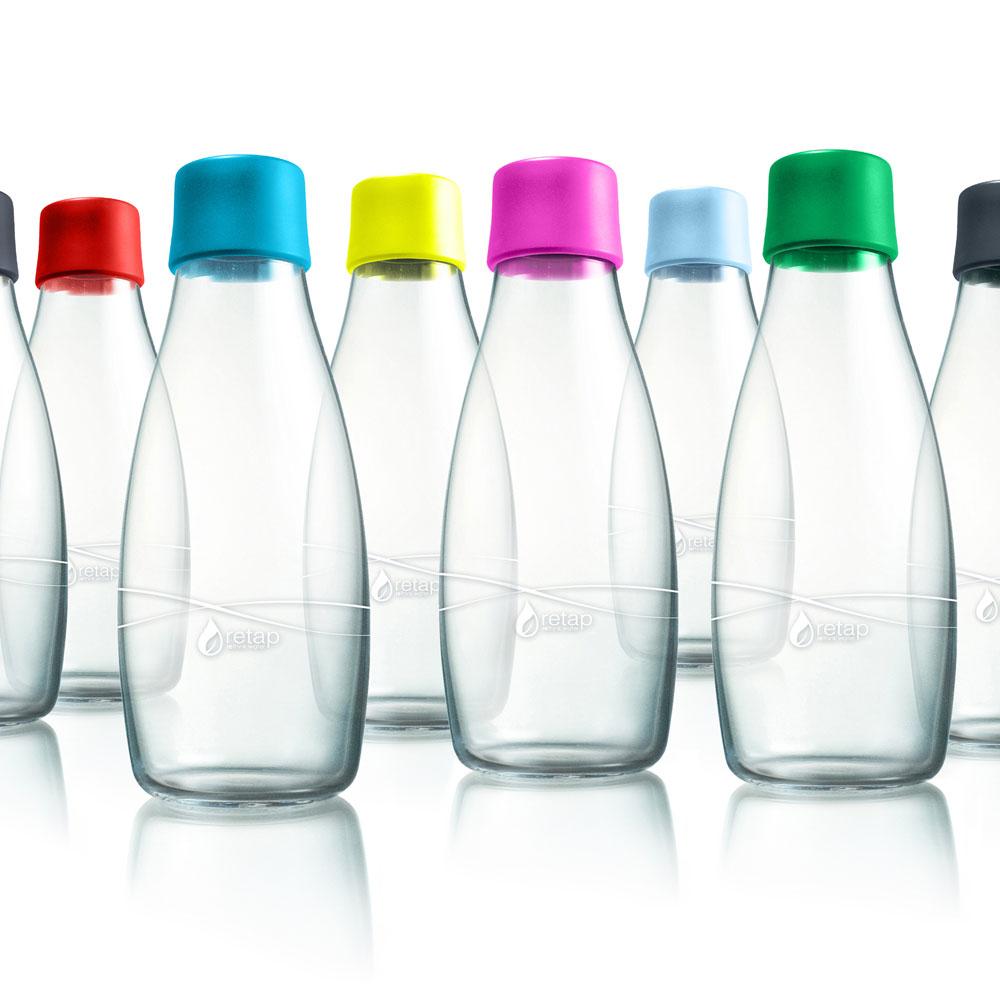 retap 50 - bouteille en verre de 50 cl • my eco design