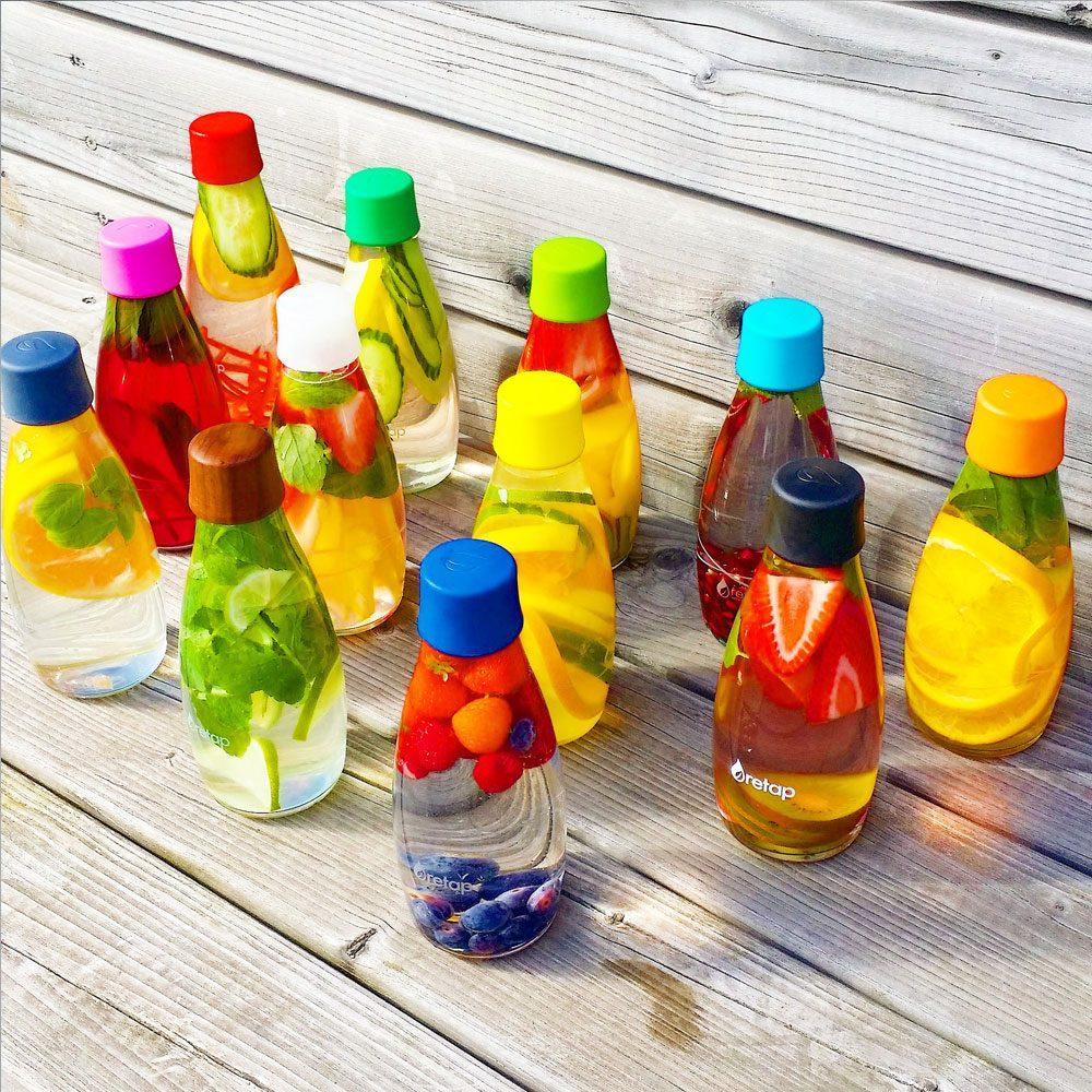 bouteille en verre et écologique