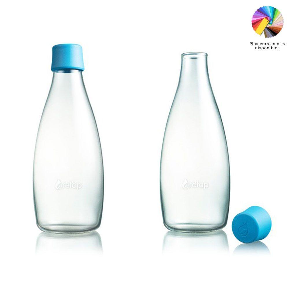 bouteille en verre retap 80 cl