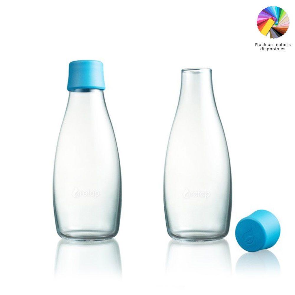 bouteille en verre réutilisable
