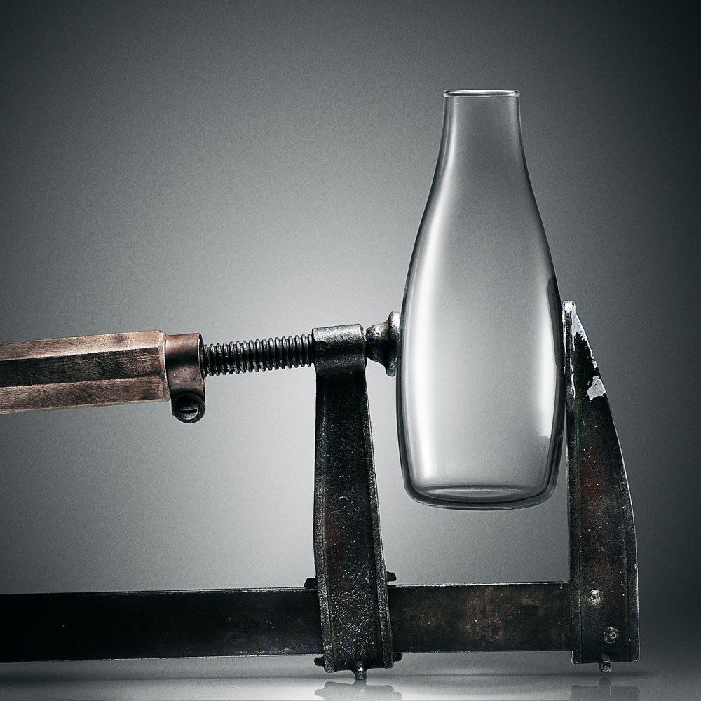 carafe design en verre