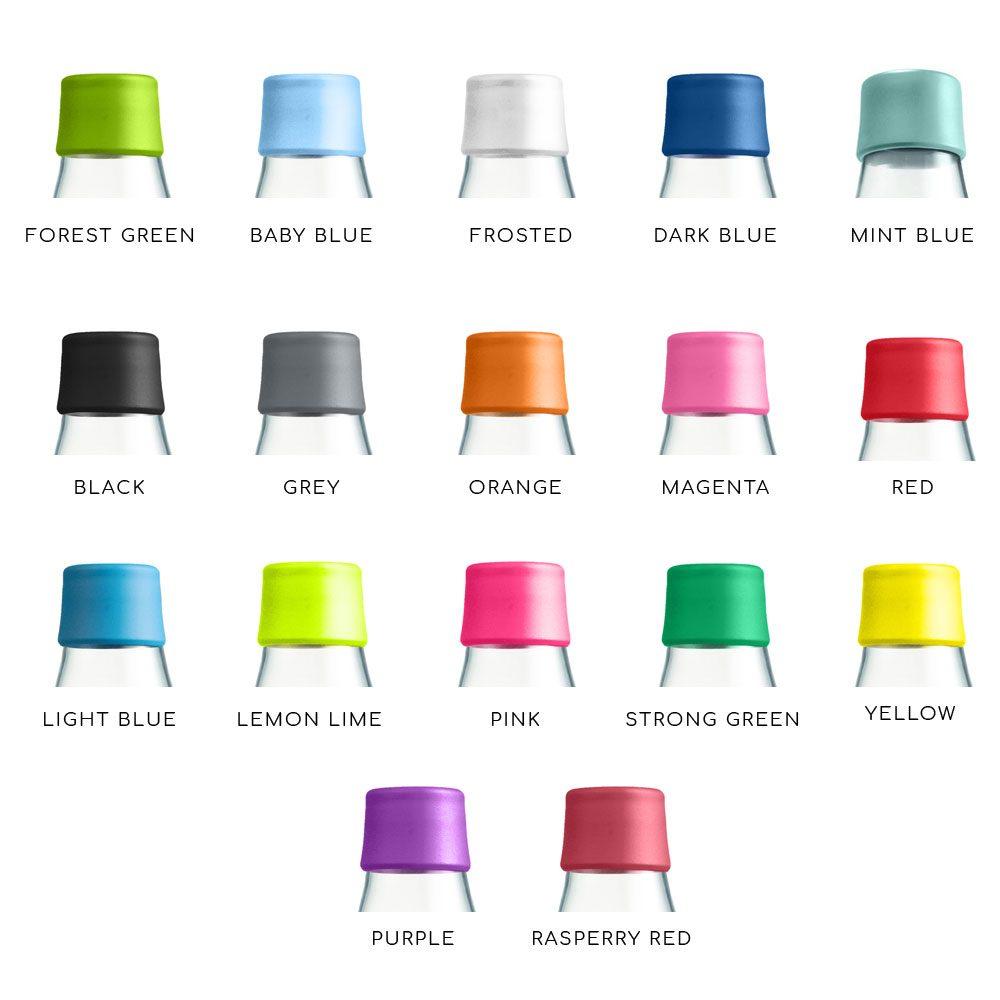 couleurs bouchons bouteilles retap