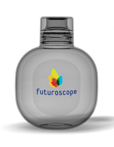 sphere advertising bottle with a large customization area