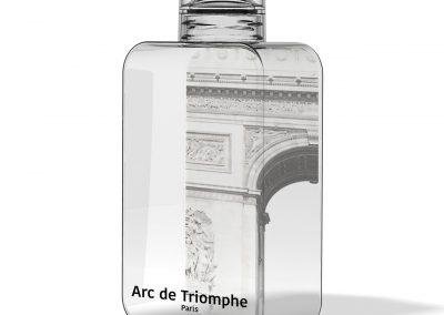 bouteille personnalisée pour sites touristiques
