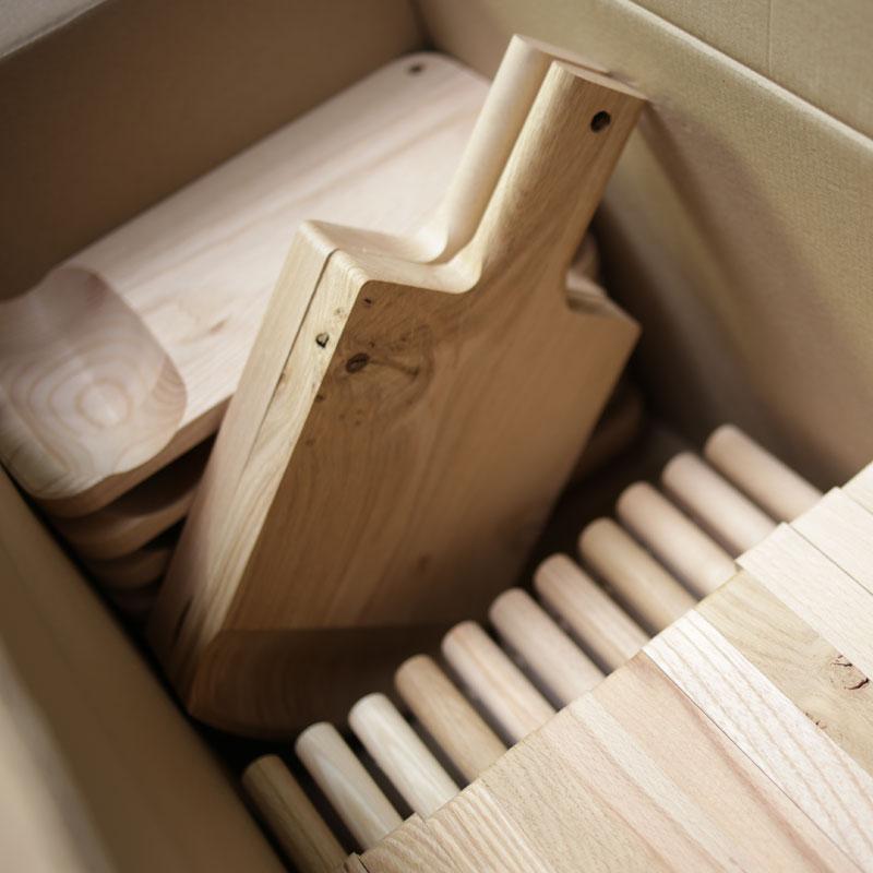 bois design Le Régal, fabrication française