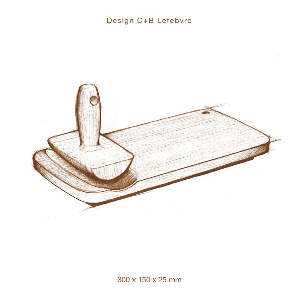planche à découper design c+b Lefebvre