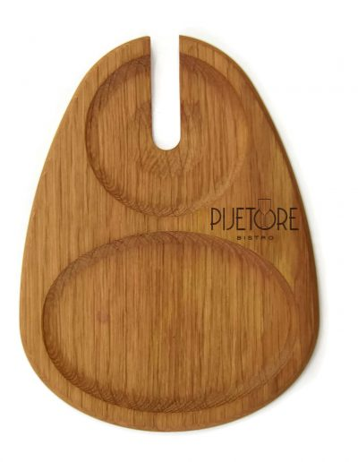 Planche a decouper design en bois personnalisableLA_GOUTTE-B