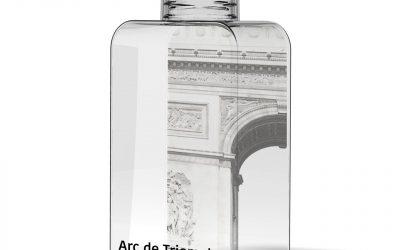 Flacon publicitaire de 50 cl, fabriqué en France, 100 % recyclable