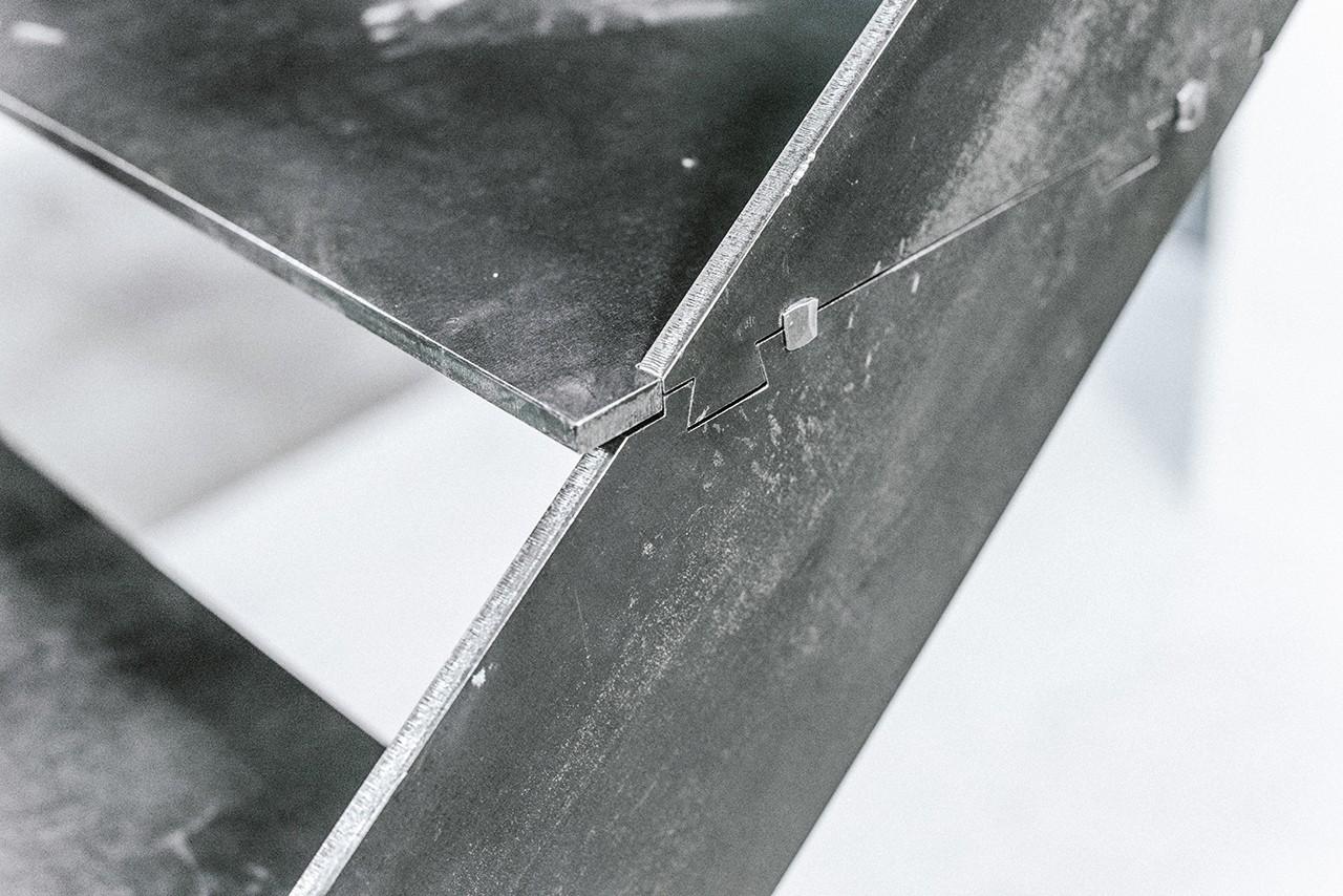 escalier design en kit RondCarré, un escalier en kit à monter soi-même