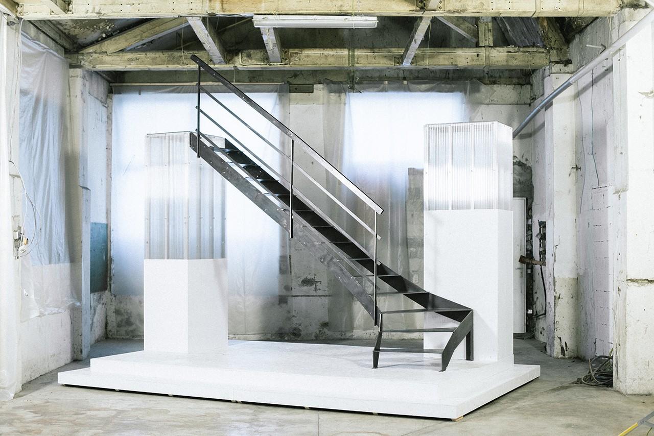 escalier en kit RondCarré, à monter soi-même