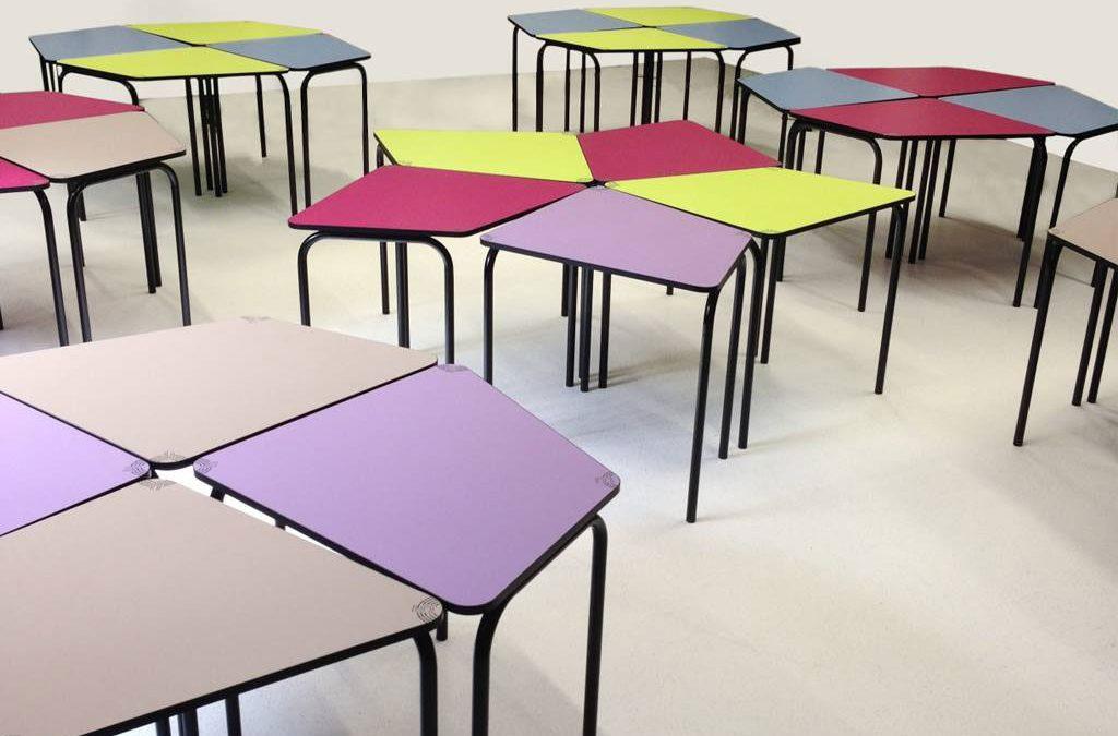 Table flexible pour créer une salle de créativité, Programme 3.4.5.